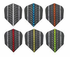 Harrows Supergrip 100 Micron Dart Flights - Choose colour & number of sets !