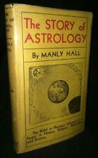1933 THE STORY OF ASTROLOGY MANLY P. HALL FIRST EDITION OCCULT ESOTERIC SCIENCE