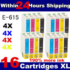 16 COMPATIBLE INK CARTRIDGES FOR STYLUS PHOTO INKJET PRINTER