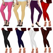 Indian Ankle Length Women Legging Cotton Lycra 4 Way Stretch Yoga Pant