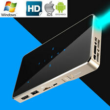 1080P HD Mini LED DLP WIFI Pocket Projector Miracast Home Cinema For IOS Android