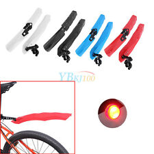 Bike Fender Set MTB Cycling Front and Rear withLED Taillight Mudguard EB