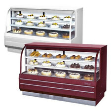 Turbo Air TCGB-72-2, 72-inch Curved Glass Refrigerated Bakery Display Case - 22.