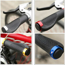 New Rubber MTB Mountain Bike Cycling Bicycle Handlebar Grips Cycling Lock-On wh
