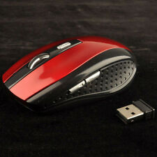 2.4GHz Wireless Cordless Optical Gaming Mouse Mice USB Receiver For PC Laptop