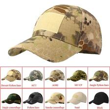 sale Camouflage Hat Simplicity Outdoor Sun Hat Army Woodland Camo Tactical Cap