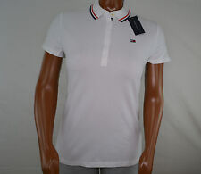 NWT Women's Tommy Hilfiger Short-Sleeve Polo Red or White (Select)  XL XXL
