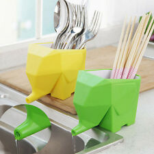 1PC  Cutlery Storage Boxes Kitchen Supplies Plastic  Cage Drainable Kitchen