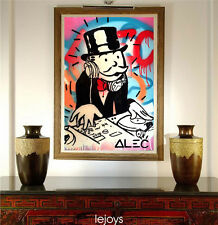 Alec Monopoly Extreme HD Print on Canvas Painting Home Decoration Wall art DJ