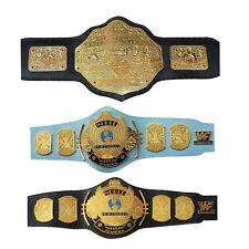 WWF/WWE Classic Gold Winged Eagle Championship WWE World Heavyweight Belts Adult