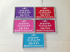KEEP CALM IT`S YOUR 30TH BIRTHDAY FRIDGE MAGNETS GIFTS FRIEND PRESENT 40TH50TH