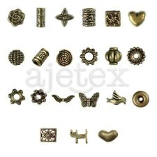 21style 20-1000pcs Antique Brass Spacer Bead Jewelry Finding