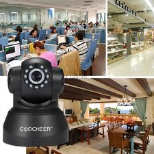 COOCHEER HD 720p Wireless/ Wired IP/ Network Pan/ Tilt Security Camera CO9902