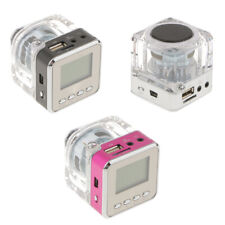 Mini Speaker MP3 Music Player with FM Radio TF Card Slot USB 3.5mm AUX-IN