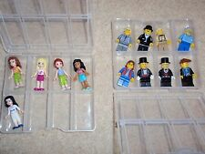 8 Lego Minifigures storage cases /boxes. Holds 64 figures. New