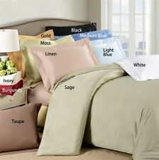 """Hotel Collection 400TC 100% Egyptian Cotton 6PC Sheet Set Solid 8"""" Deep Pocket"""