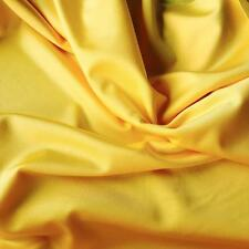 YELLOW Lycra Spandex 4 Way Stretch Fabric Material Dance wear Sports 150 60""