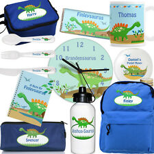 DINOSAUR GIFTS. Personalised Gift For Children. Customised Name Birthday Present