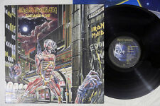 IRON MAIDEN SOMEWHERE IN TIME EMI EMS-91184 Japan Vinyl LP