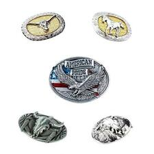 MagiDeal Cowboy Belt Buckles Western Animal Theme Native American Mens Jewelry