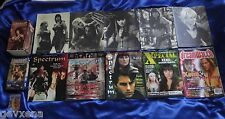 Lot #1 of Hercules Xena Trilogy VHS, Chakram Newsletters, Magazines, Keychain...