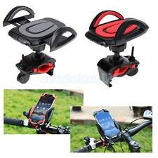 """Bicycle Bike Handlebar Clip Phone Mount Holder Stand for 3.5""""-6.2"""" Phone GPS"""