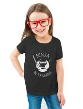 Ninja In Training - Cool Children Clothing Toddler/Kids Girls' Fitted T-Shirt