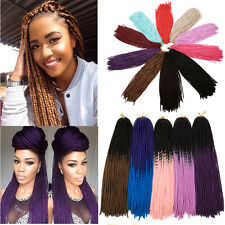 US Twist Crochet Braids New Extensions Synthetic Hair Piece Curly Braiding Hair