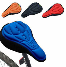 Cycling Bicycle Seat 3D Pad Silicone Cushion Gel Bike Saddle Soft Cover Saddle