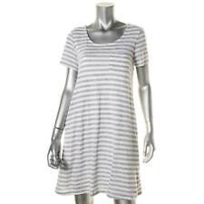 Splendid 8216 Womens Heathered Striped Casual T-Shirt Dress BHFO