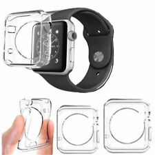 Clear Soft Watch Apple Tempered Glass+ Case Cover For Full Protect New 38/42mm