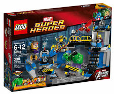 LEGO 76018 Super Heroes Hulk Lab Smash Brand New in Sealed Box