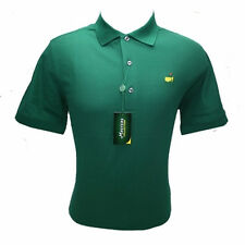 Masters Golf Polo Shirt Green Pique MEDIUM - XXL - NEW! - SHIPS FREE NOW!