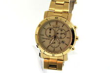 Unisex Citizen FB1342-56P Eco-Drive AML Gold-Tone Stainless Chronograph Watch