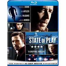 State of Play (Blu-ray Disc, 2009) Russell Crowe Ben Affleck
