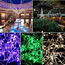 10M 100LED Bulbs Christmas Fairy Party String Lights Waterproof EA77