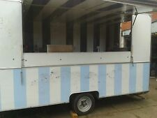 12 x 7Ft Catering Trailer 12 months Electric & Gas Certs Fully Refurshed