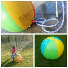 New Little Tikes Inflatable Beach Toys Water Ball Outdoor Sprinkler (88 Inches)
