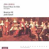Jenkins:Consort Music for Viols, New Music