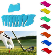 10Pcs Universal Neoprene Golf Club Iron Head Cover Case Wedge Sock Headcover