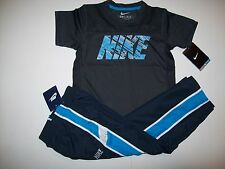 NWT NIKE Boys Set Hyper Speed Dri-FIT Mesh Top & Athletic Wind Pants Set- Size 4