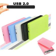 2.5'' USB2.0 SATA Hard Drive Mobile Disk External Caddy Tray Enclosure Case