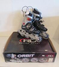 NIB Roller Derby Orbit I-253 Roller blades Sizes 13 1 2 3 4 5 & 6 Inline Skates