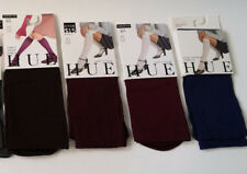 NWT HUE Knee-Hi Socks Size 2 - Soft Opaque OR Cotton - 3 COLORS New Combine Ship