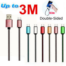 New 0.5-3M HIGH SPEED USB Charger Data Sync Cable iPhone 5 5C 5S SE 6 7 Plus Lot