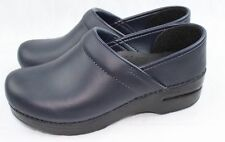 Dansko Professional Oiled Blueberry Doctor/Nurses/Chef Shoes Leather Clogs