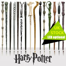 Harry Potter Wand Magic Hermione Dumbledore Voldemort Film Toy Gift Box LED