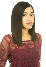 [Lace Front Wig] Magic Lace Natural Curved Part Wig Synthetic Full Wig - MLC200