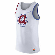 Limited Edition Nike MLB 2017 Cooperstown Collection Atlanta Braves Tank Shirt