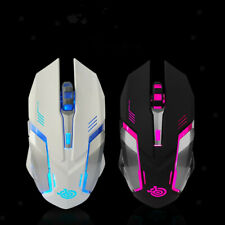 2.4GHz Wireless Optical Gaming Mouse Mice + USB 2.0 Receiver for PC Laptop